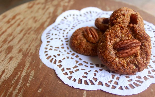 Paleo Pecan and Date Biscuits
